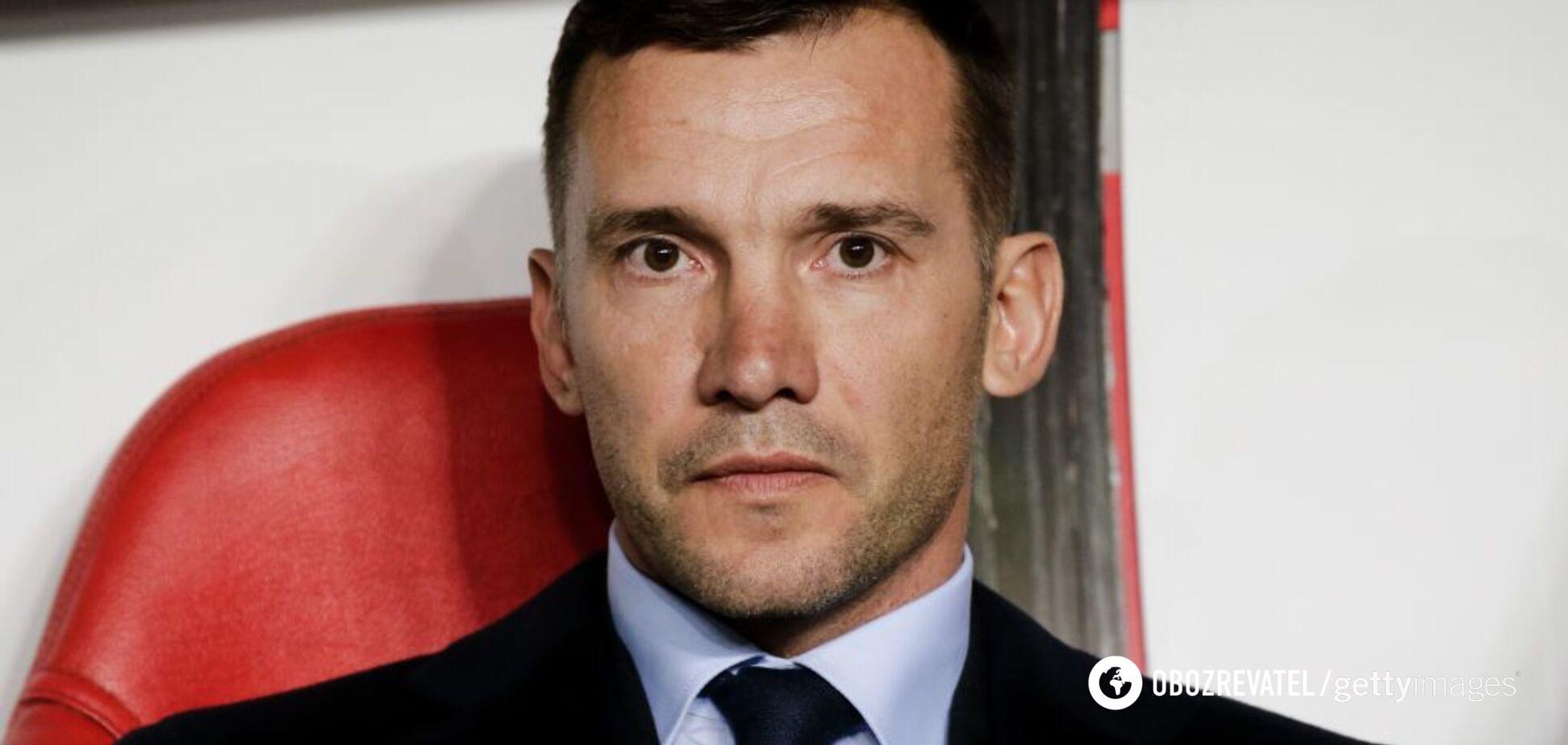 Шевченко исключил трех игроков из состава сборной