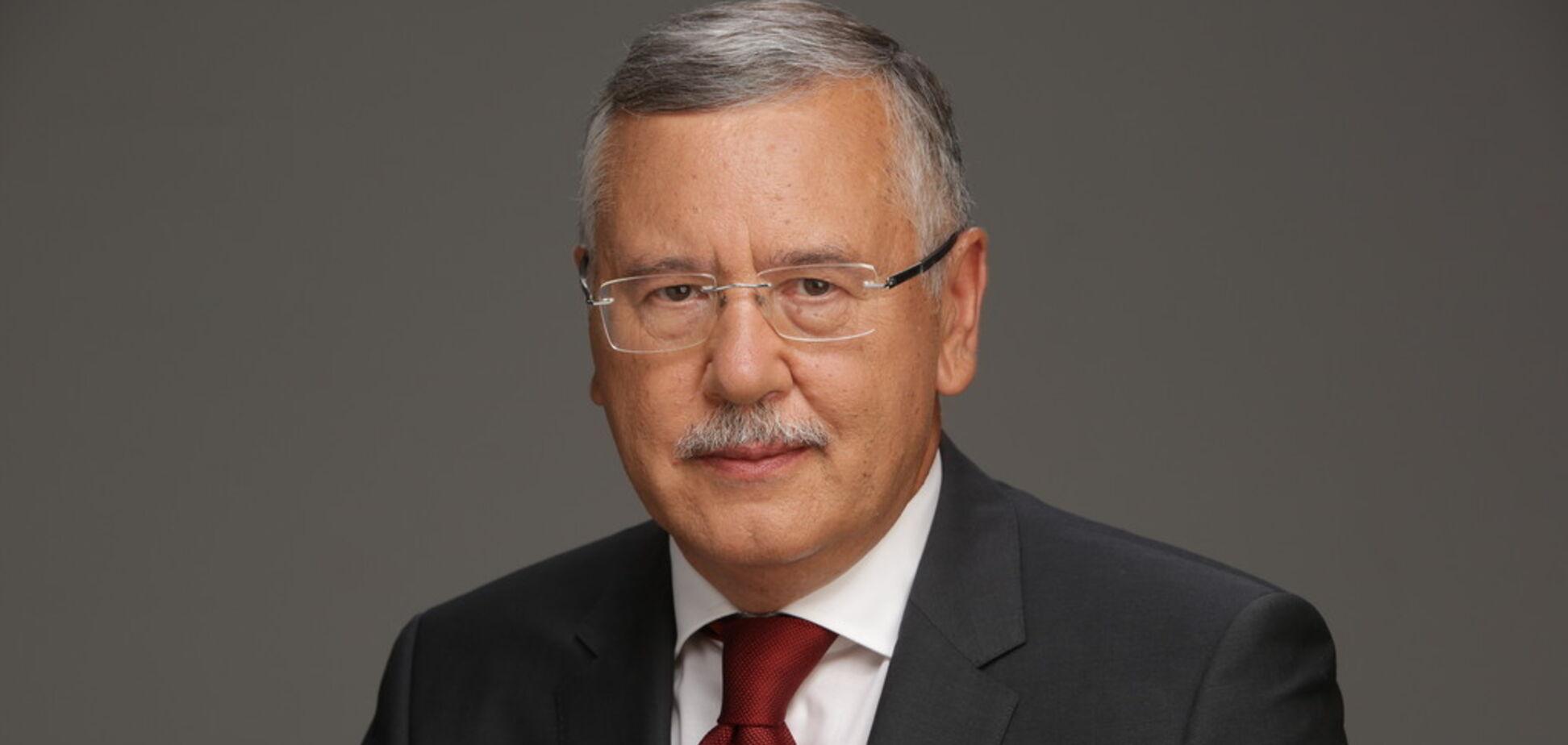 Гриценко призвал Зеленского к дебатам
