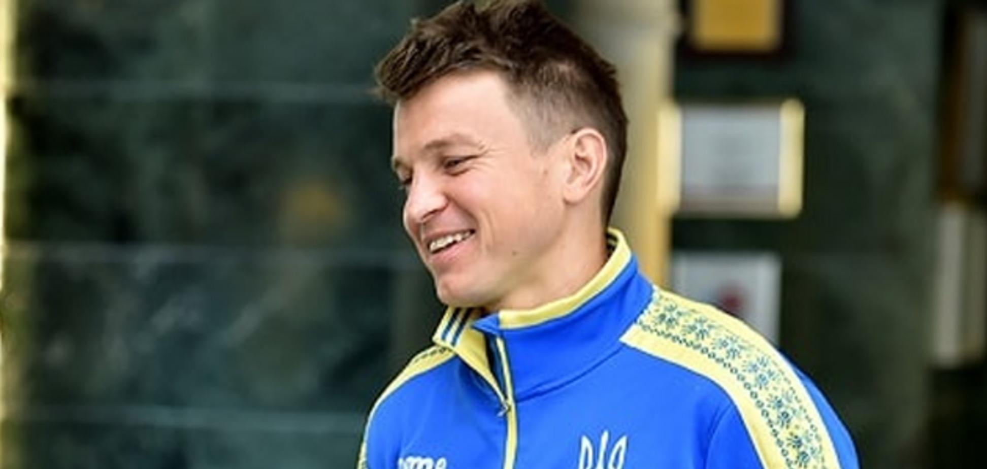 История в 27 лет: экс-игрок 'Динамо' принял сборную Украины