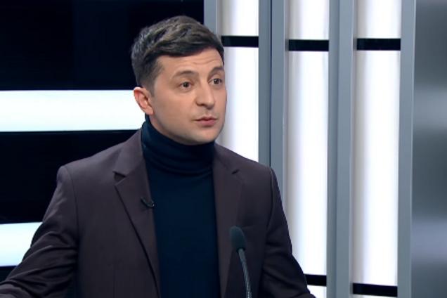 Владимир Зеленский в эфире ТСН
