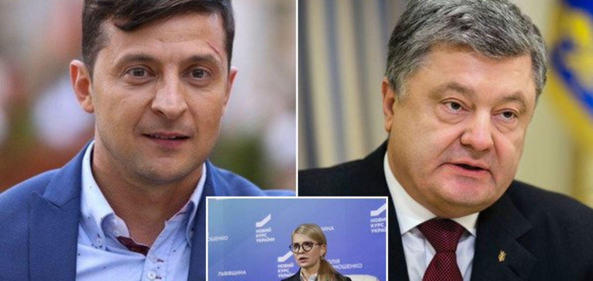 Президентом станет Зеленский или Тимошенко: результаты нового опроса