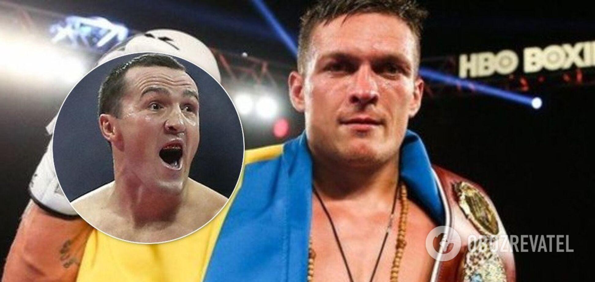Усика позбавлять чемпіонського пояса заради боксера з команди Путіна