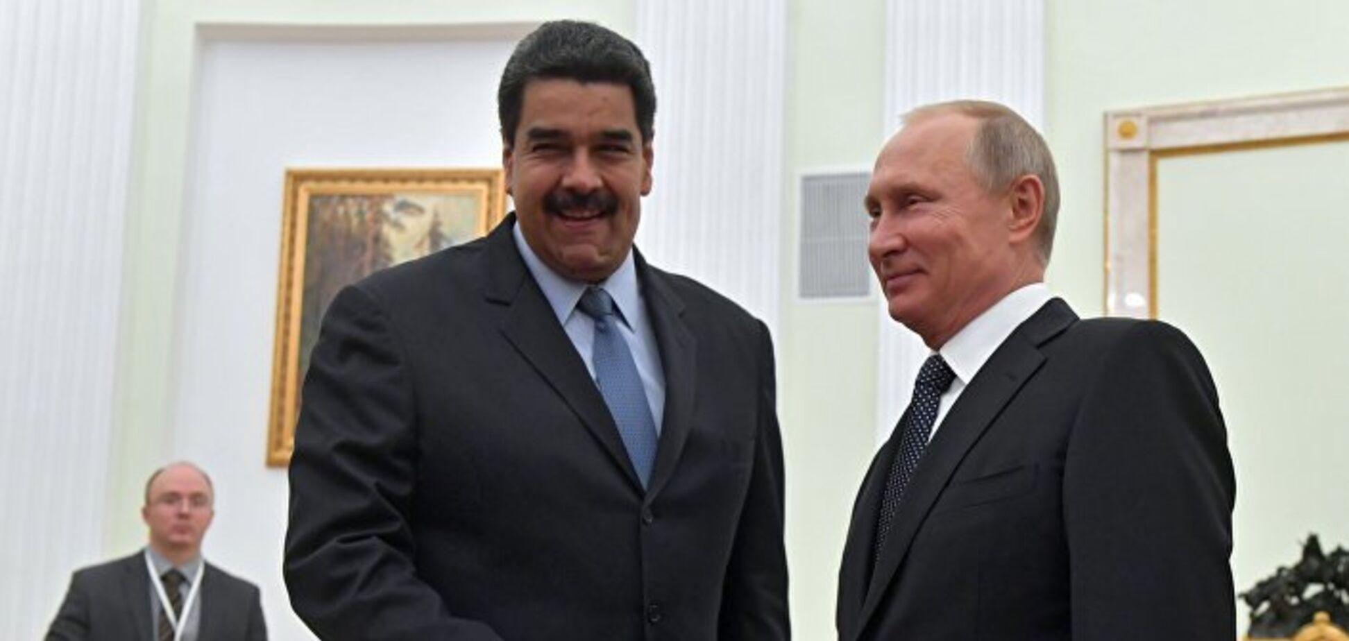 Россия в Венесуэле идет по сценарию Украины, Грузии и Сирии