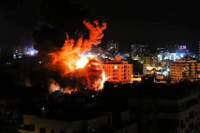 Удар Израиля по ХАМАС 25 марта