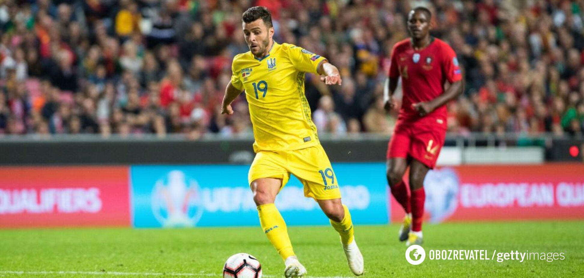Спортивный юрист не исключил технического поражения для сборной Украины по футболу