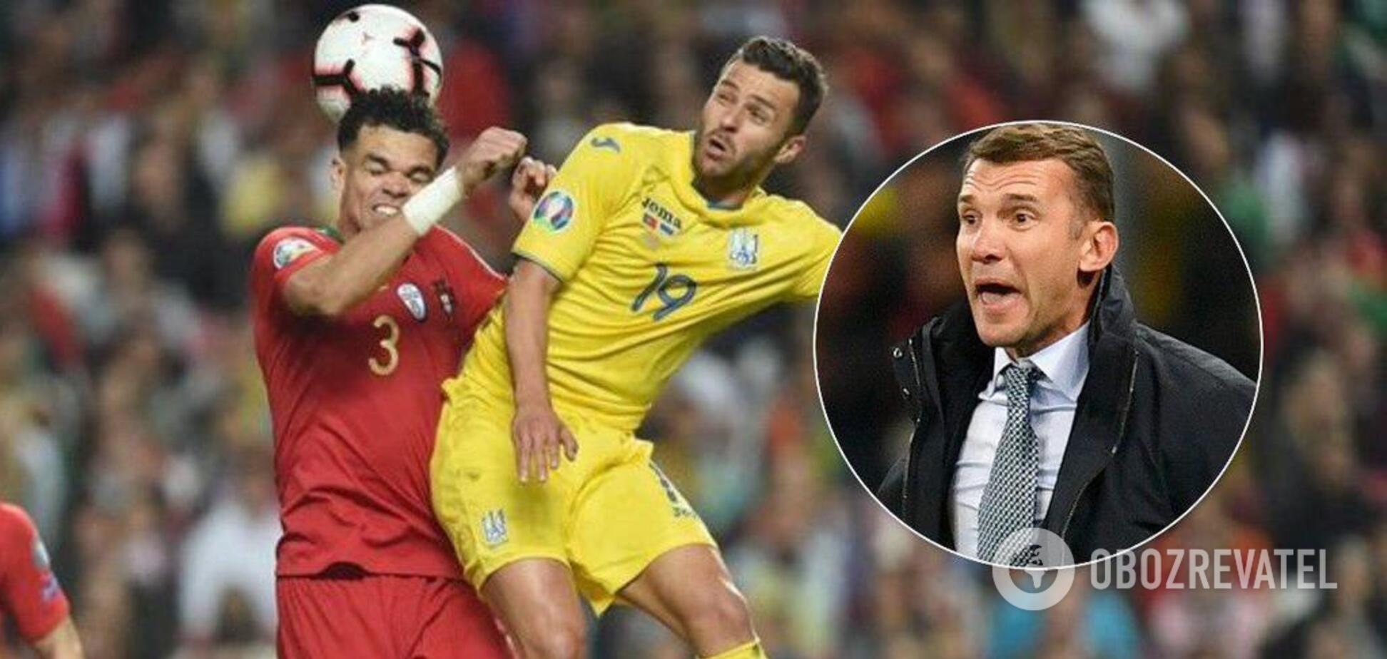 Украине хотят дать поражения 0:3 за матчи с Португалией и Люксембургом — что известно