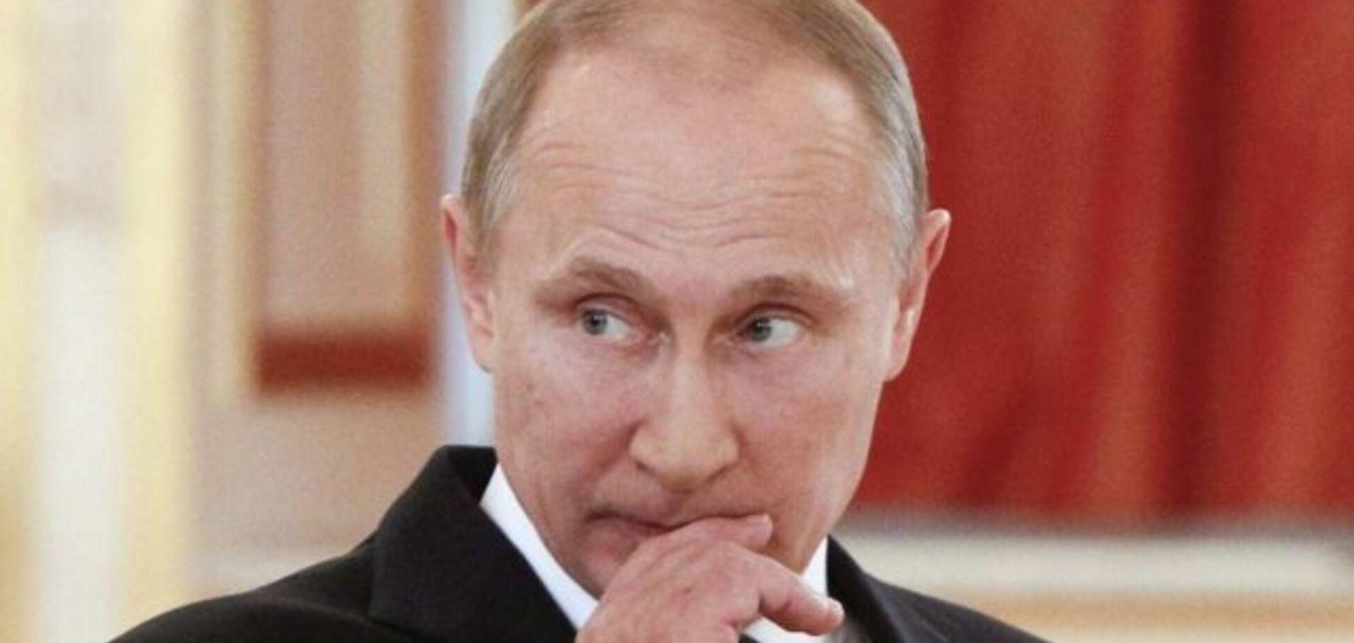 'Такой здоровый!' Путин оконфузился в окружении спортсменов