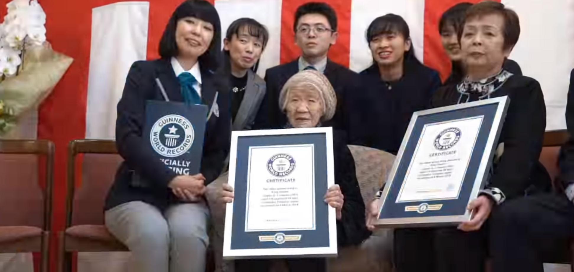 Далеко за 100: до книги рекордів Гіннесса внесли найстарішу людину планети