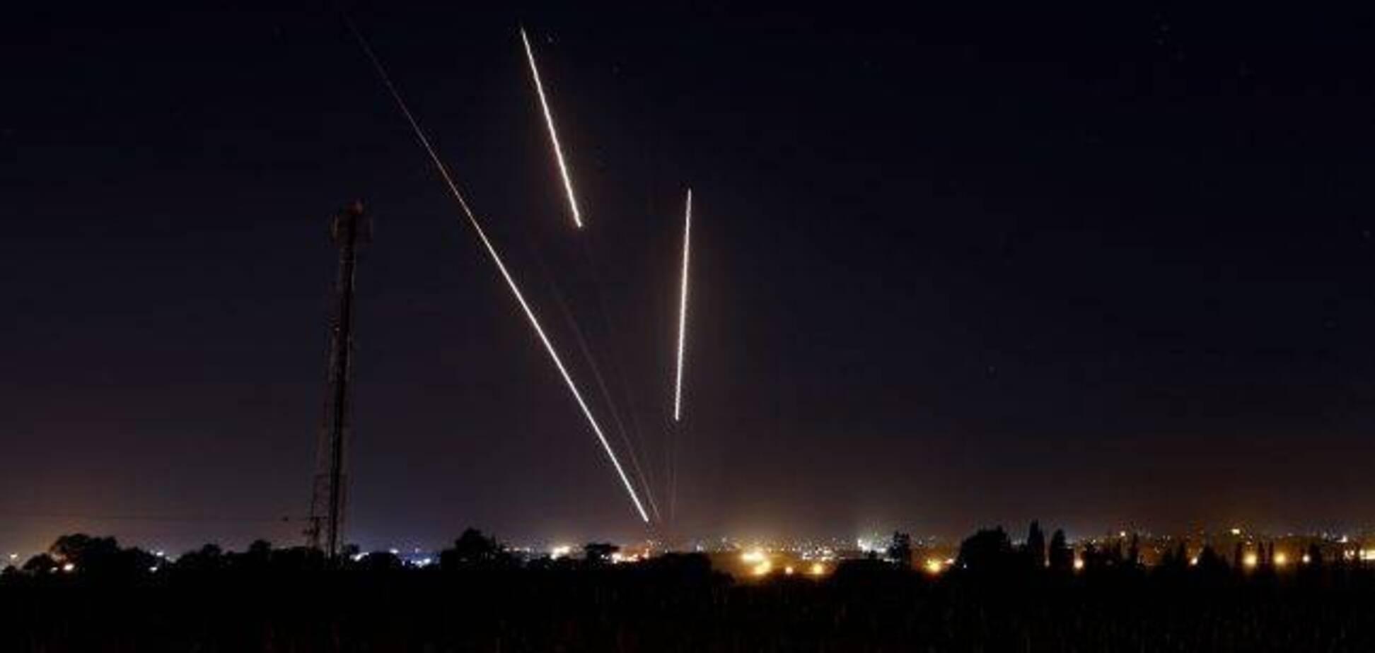 Пуск ракет из сектора Газа в направлении Израиля, 25 марта 2019 года. Источник: globalnews.ca