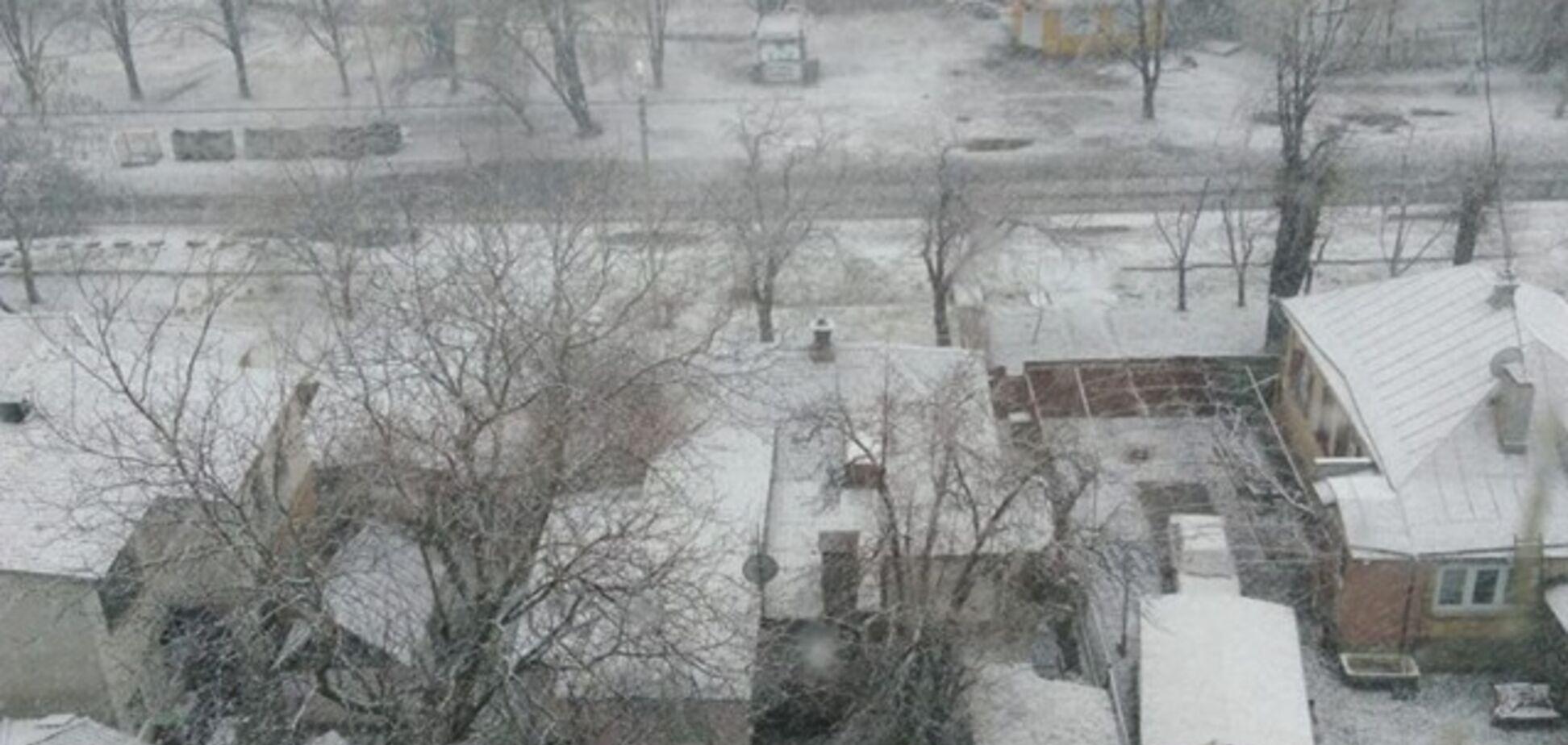 Україну засипало снігом: яскраві фото з різних міст