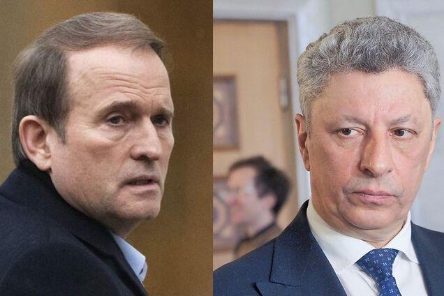 Віктор Медведчук і Юрій Бойко