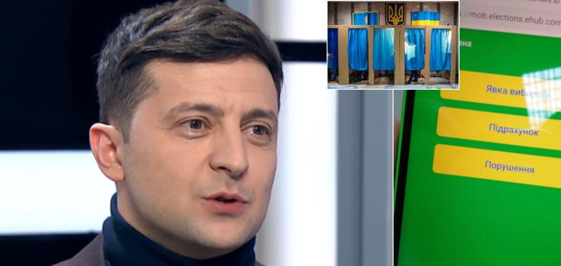 Впервые в Украине: какие сюрпризы Зеленский припас на выборы