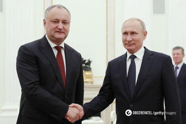 Додон заявил, что не собирается платить России за газ, который был поставлен Приднестровскому региону