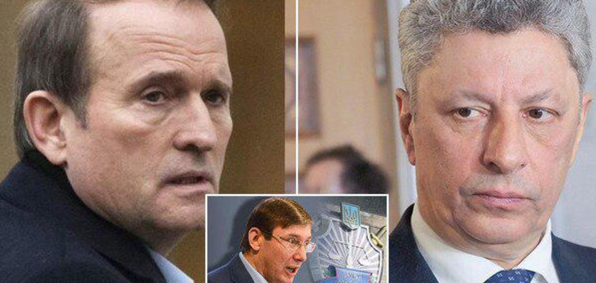 Бойка і Медведчука вирішили жорстко покарати за вояж до Москви: що відомо