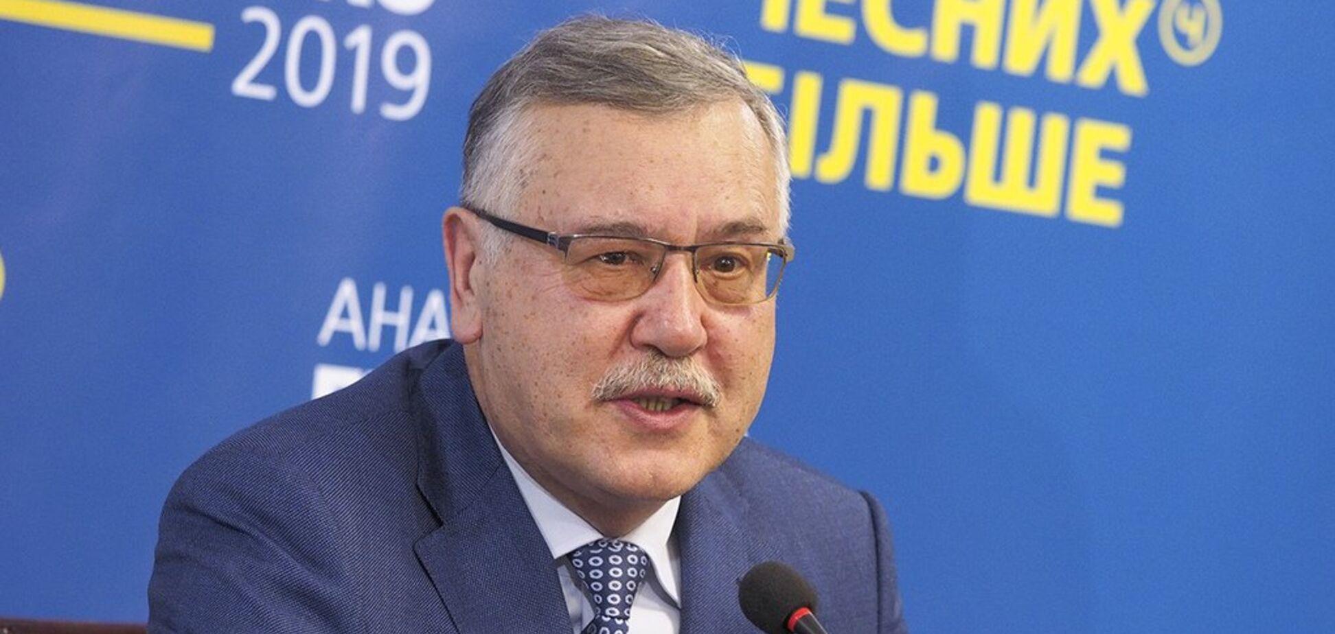 У Гриценка розповіли про загрозу для виборів-2019