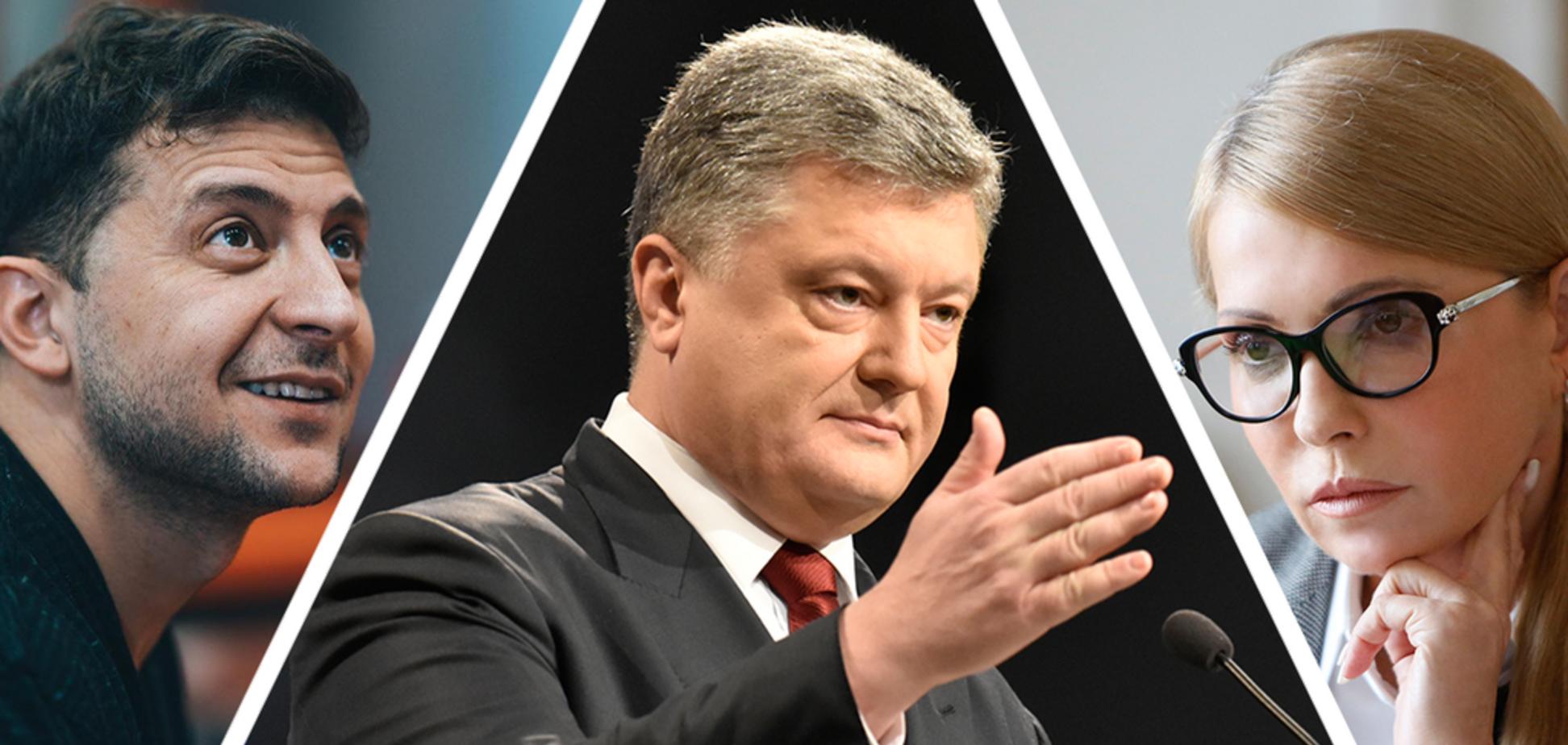 Названі лідери президентських виборів в Україні: дані опитування