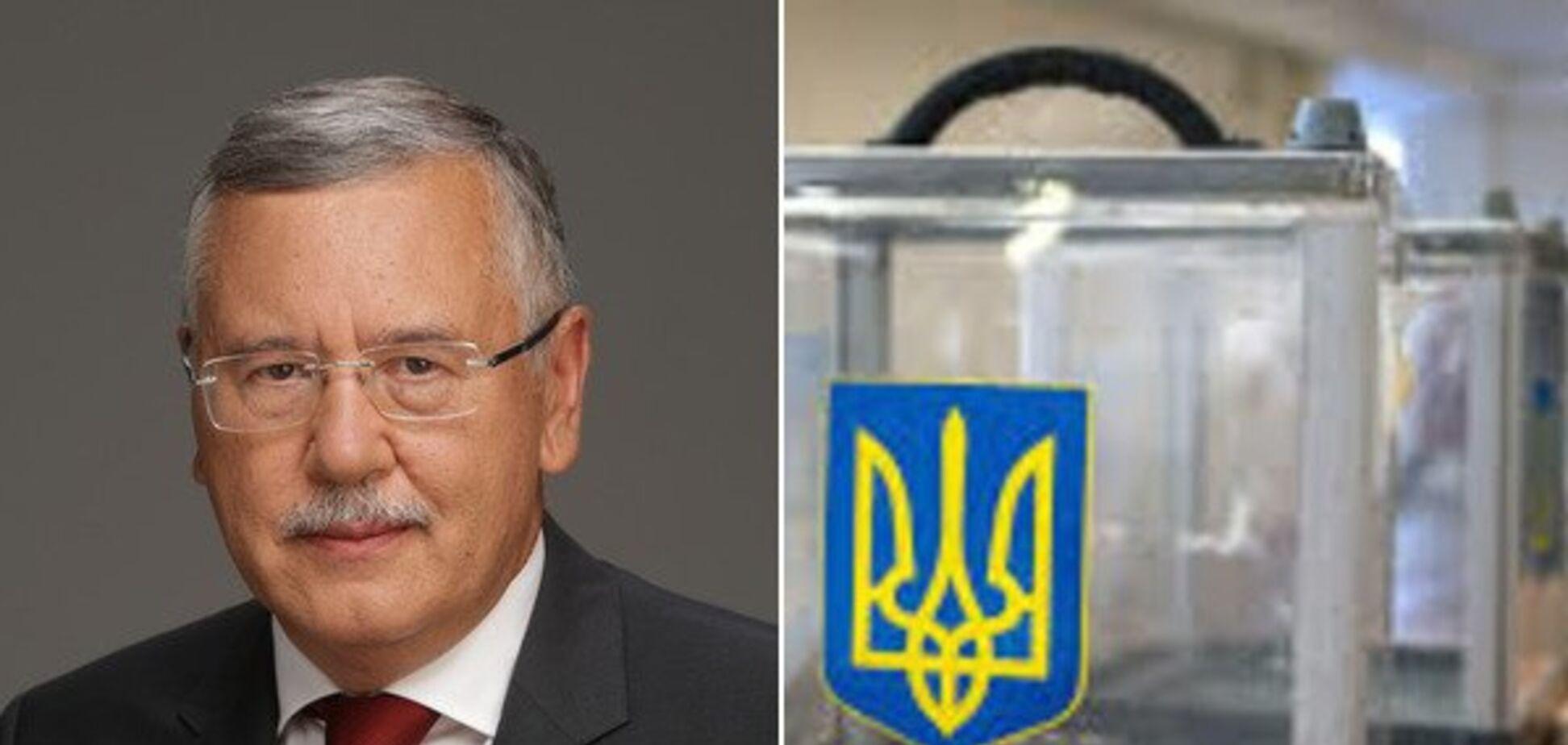Новая избирательная система и наказание для нардепов: с чем Гриценко идет в президенты