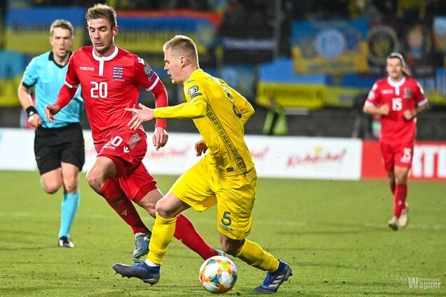 'Верну деньги': футболист сборной Украины разошелся после матча с Люксембургом