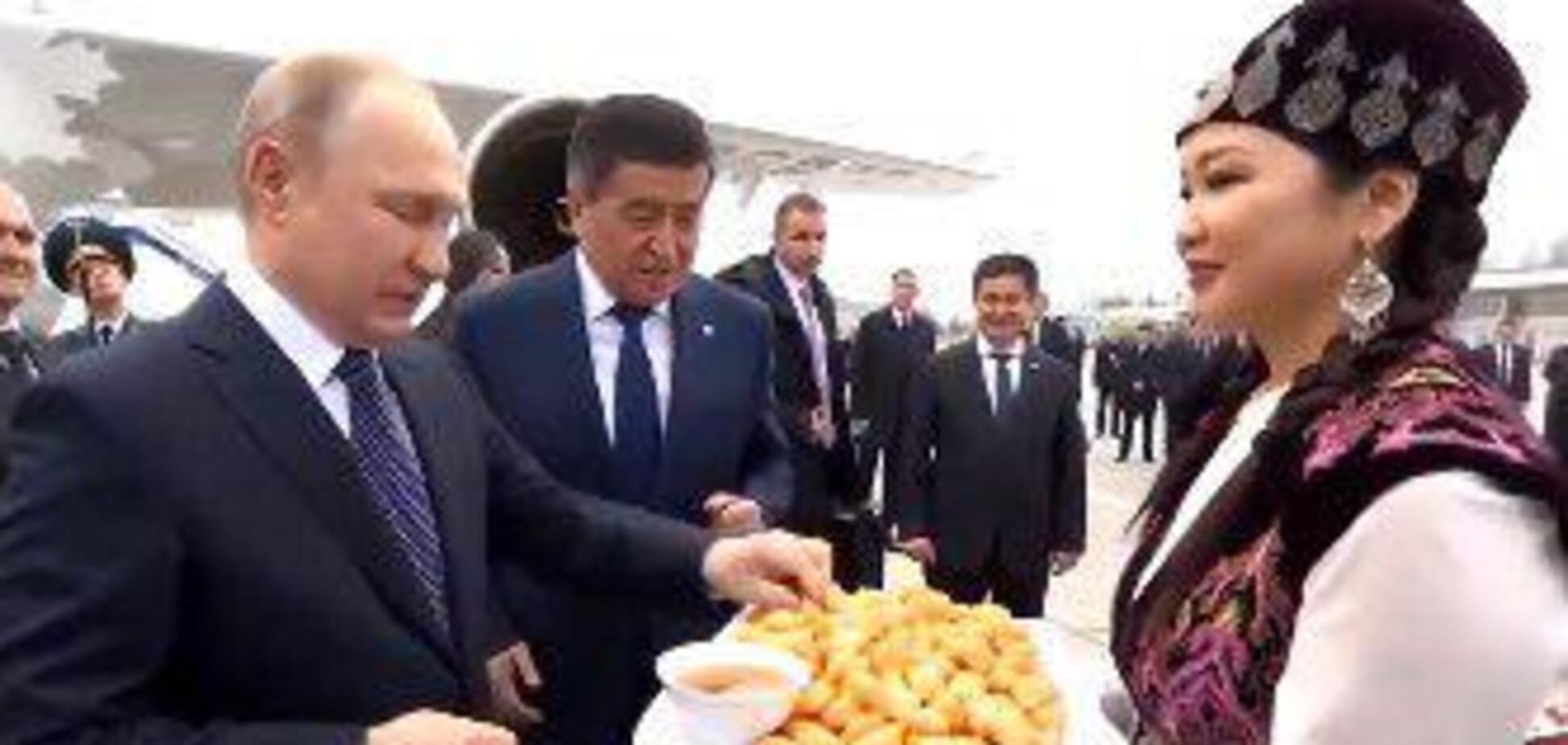 Володимир Путін у Бішкеку
