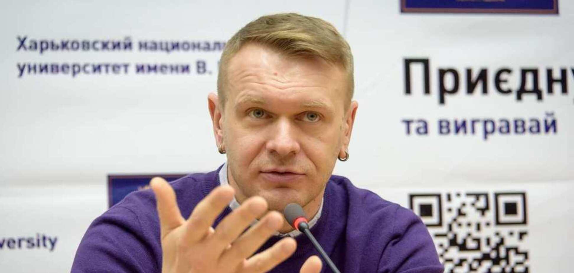 Відомий співак пояснив, чому проголосує за Гриценка