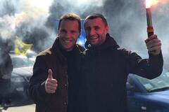 Кандидат в президенты Деревянко поддержал автопробег за доступные авто в Киеве