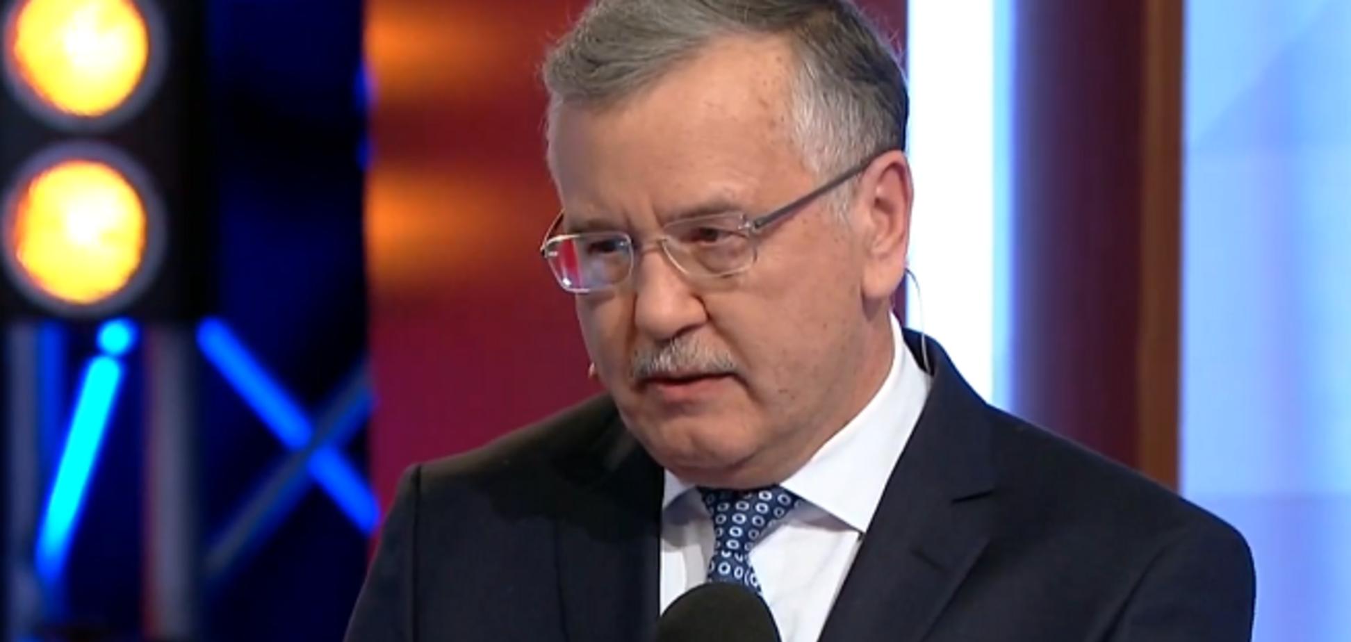 Гриценко дал ответ по передаче голосов Зеленскому и Тимошенко