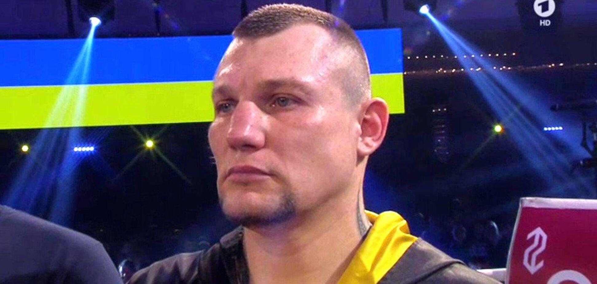 Украинский боксер обидно уступил в титульном бою