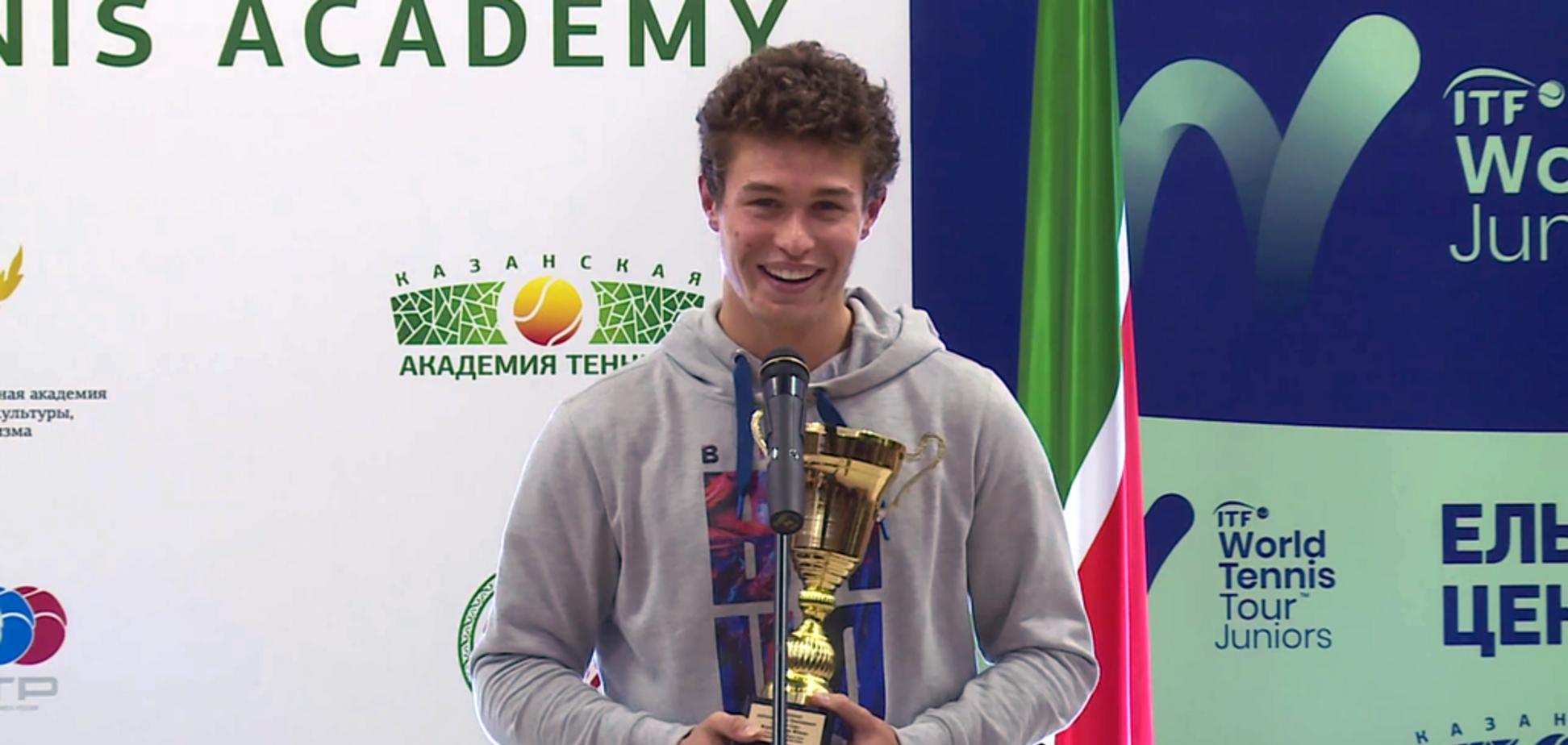 Українець виграв тенісний турнір у Росії