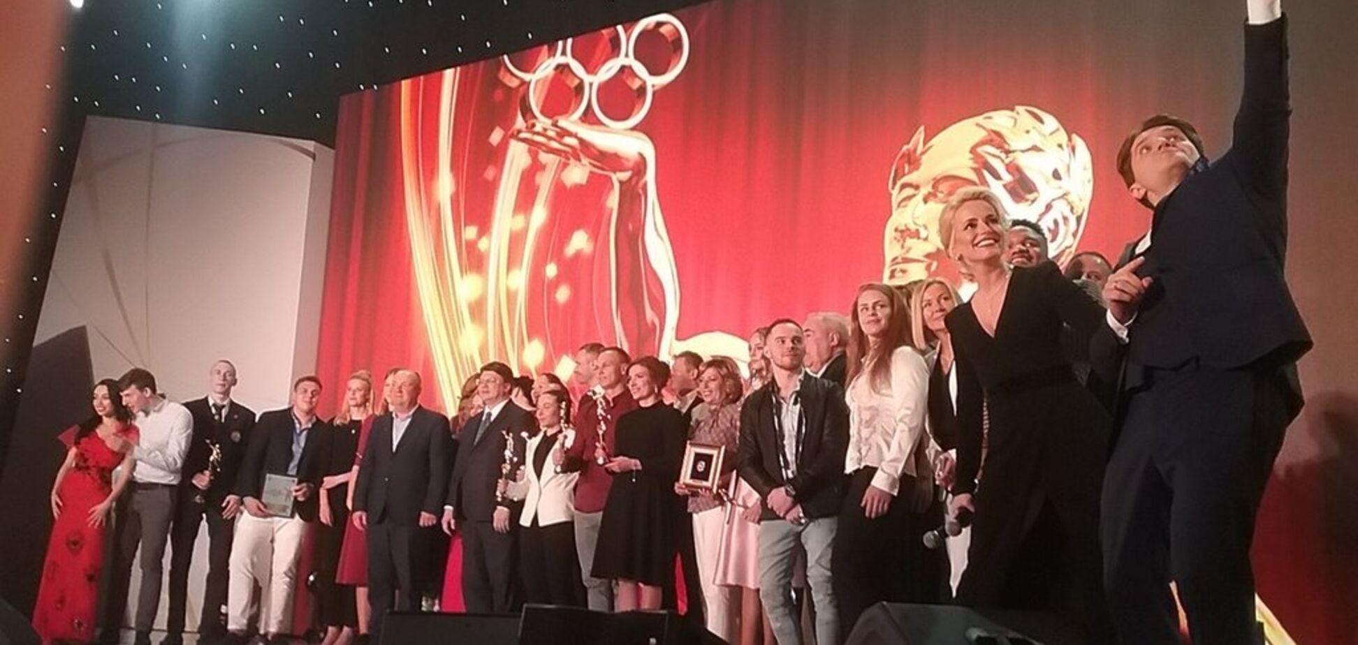 Названы лучшие спортсмены года в Украине