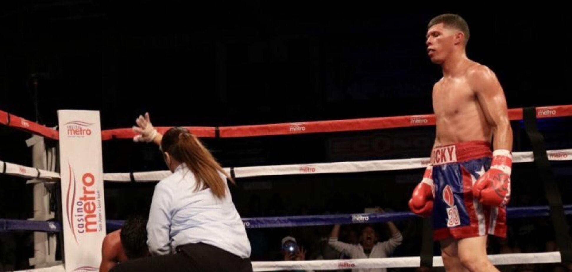 Побитий Ломаченком боксер повернувся на ринг ефектним нокаутом