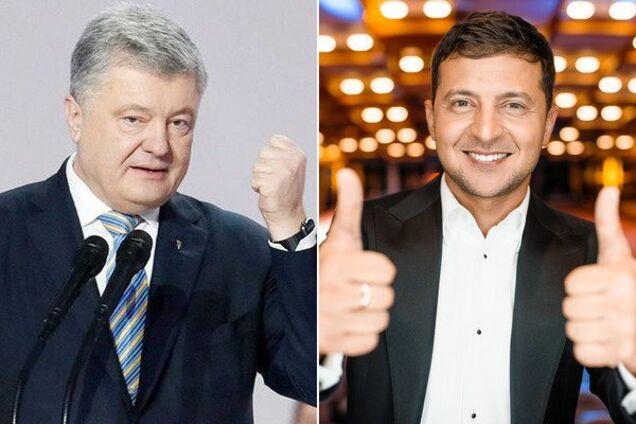 Зеленский заявил, что пойдет на дебаты с Порошенко