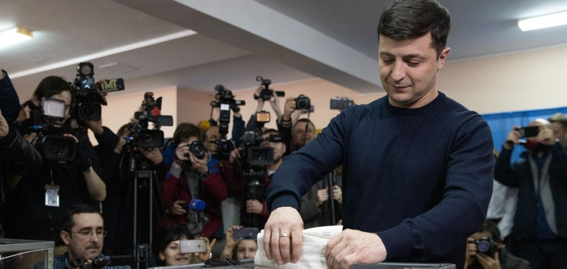 Зеленський проголосував на виборах президента: як це було
