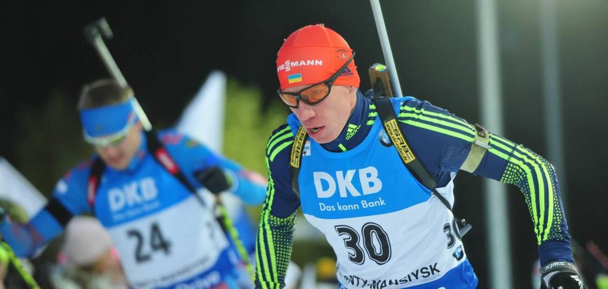 Экс-биатлонист сборной Украины выиграл чемпионат России