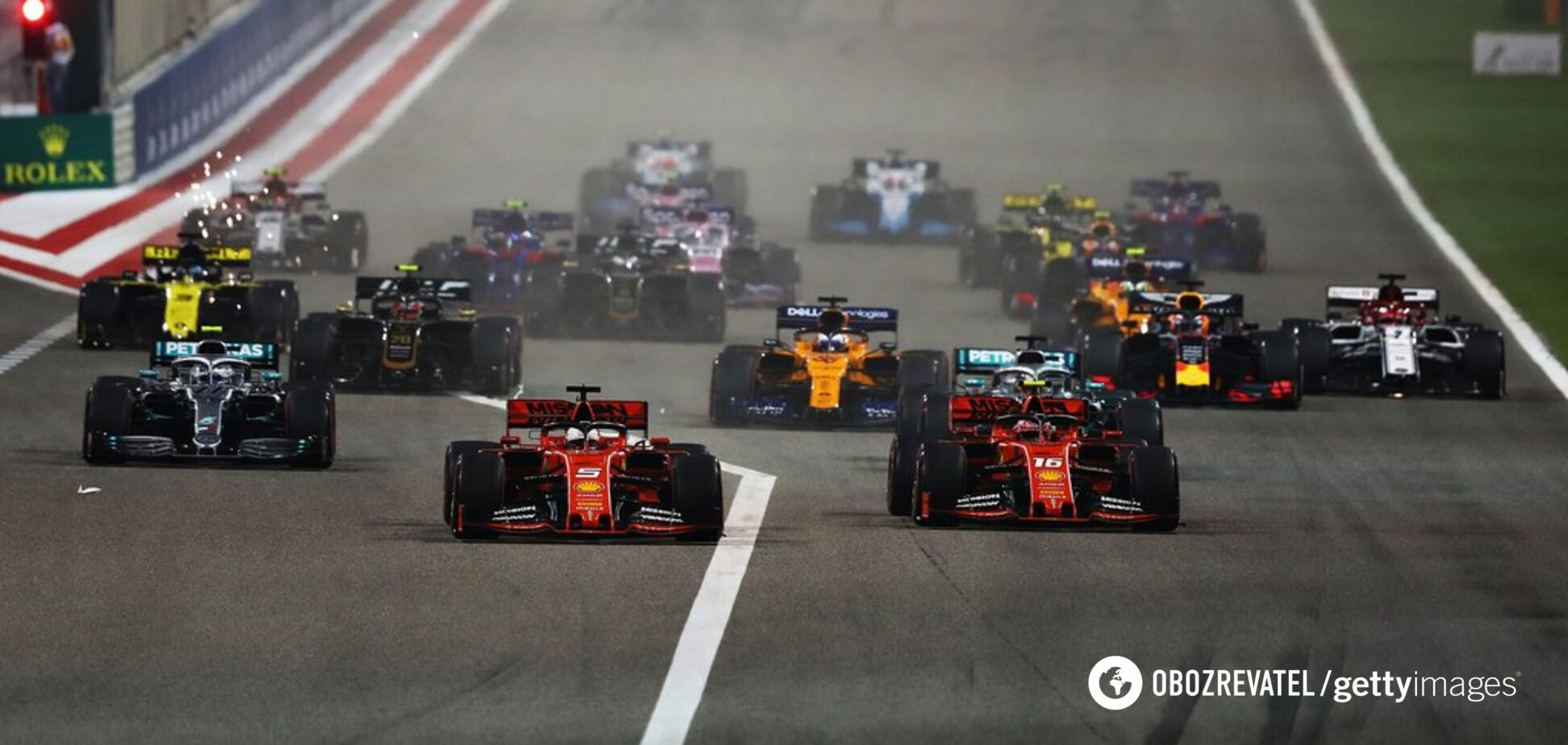 Гран-прі Бахрейну Формули-1 завершився катастрофою для Ferrari