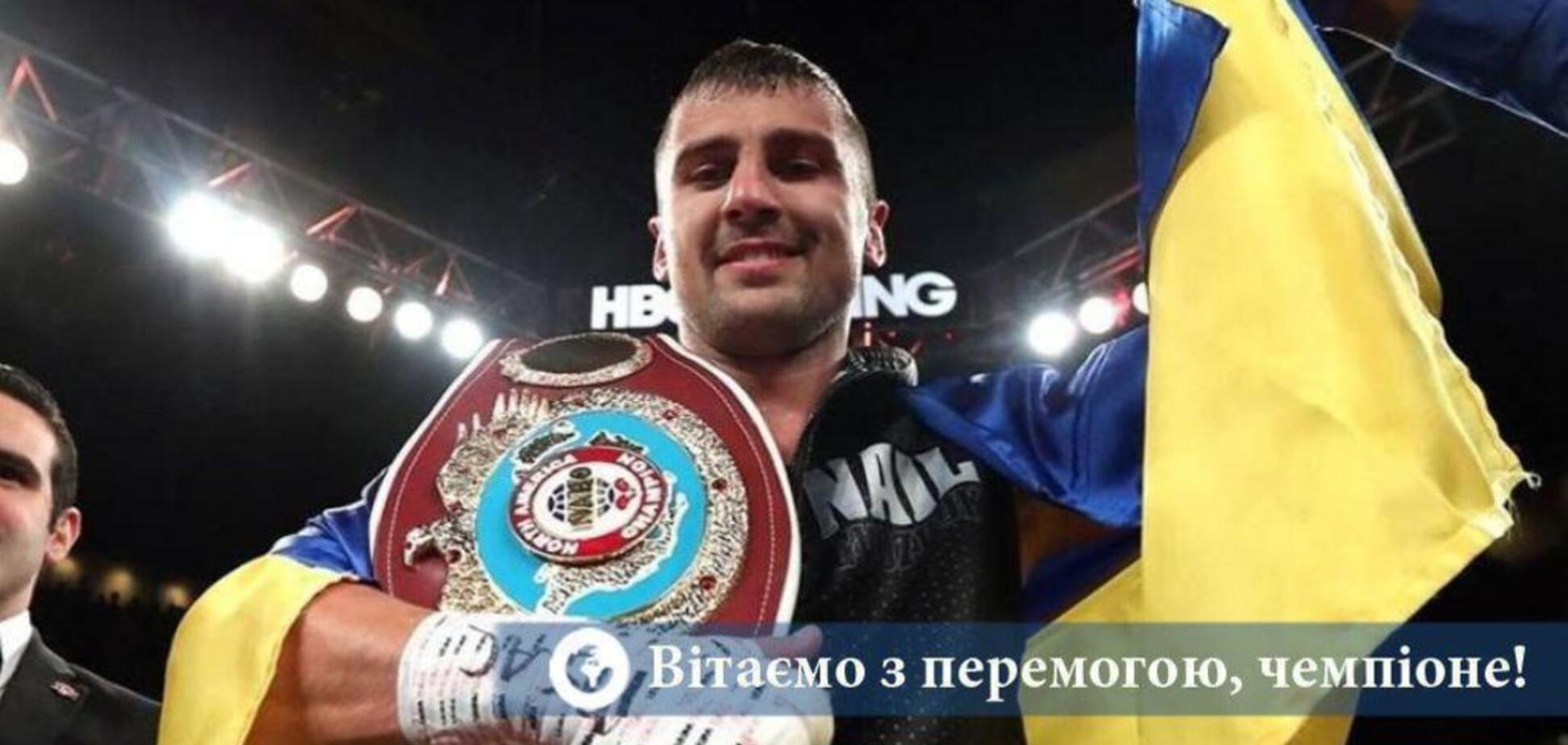 Гвоздик досрочно победил в чемпионском бою