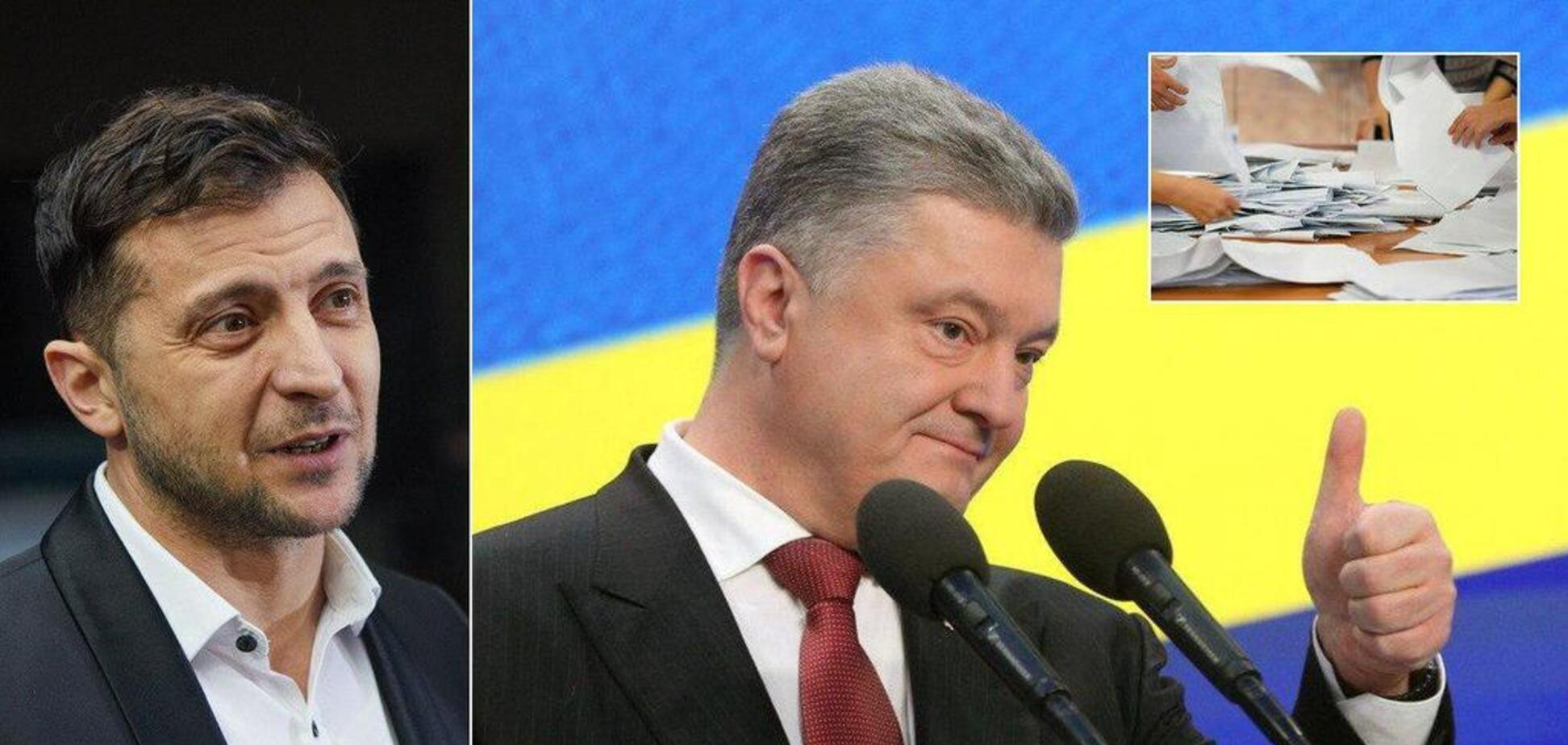 Зеленский и Порошенко проходят во второй тур: данные экзит-полов