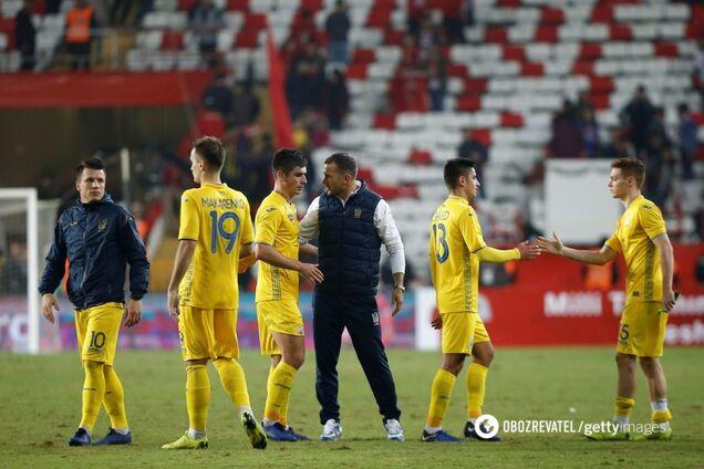 Андрей Шевченко и сборная Украины