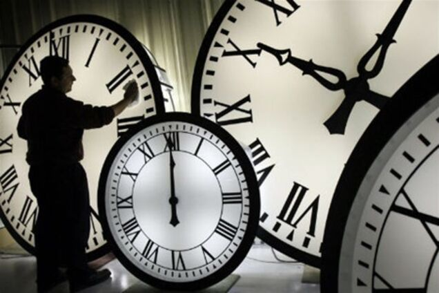 Перевод часов 2019 в Украине на летнее и зимнее время