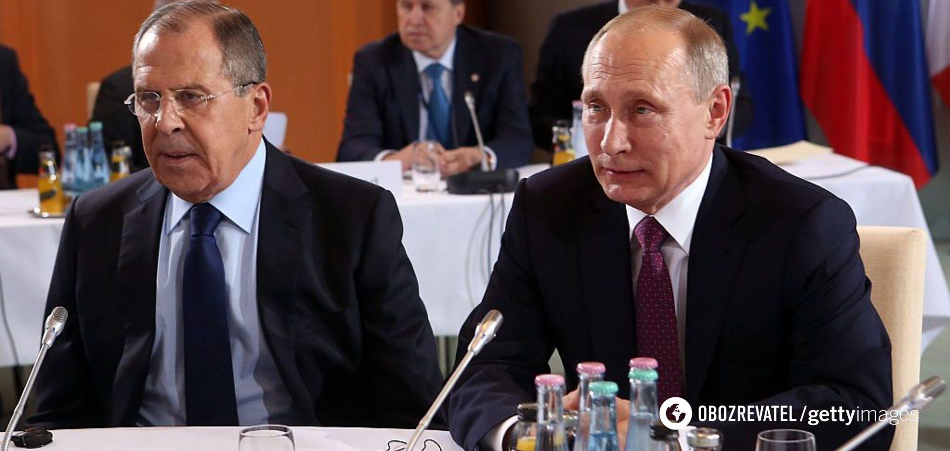 Российскую наркомафию во главе с Путиным и Лавровым – подорвали