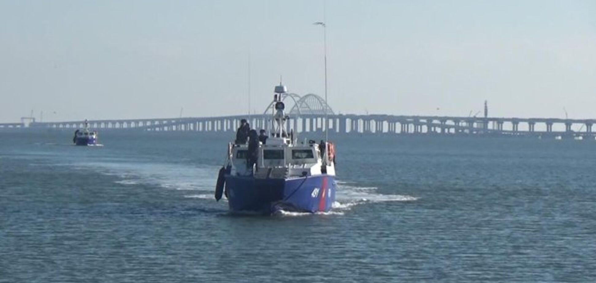 Россия усилила охрану Крымского моста: озвучены угрозы для Украины