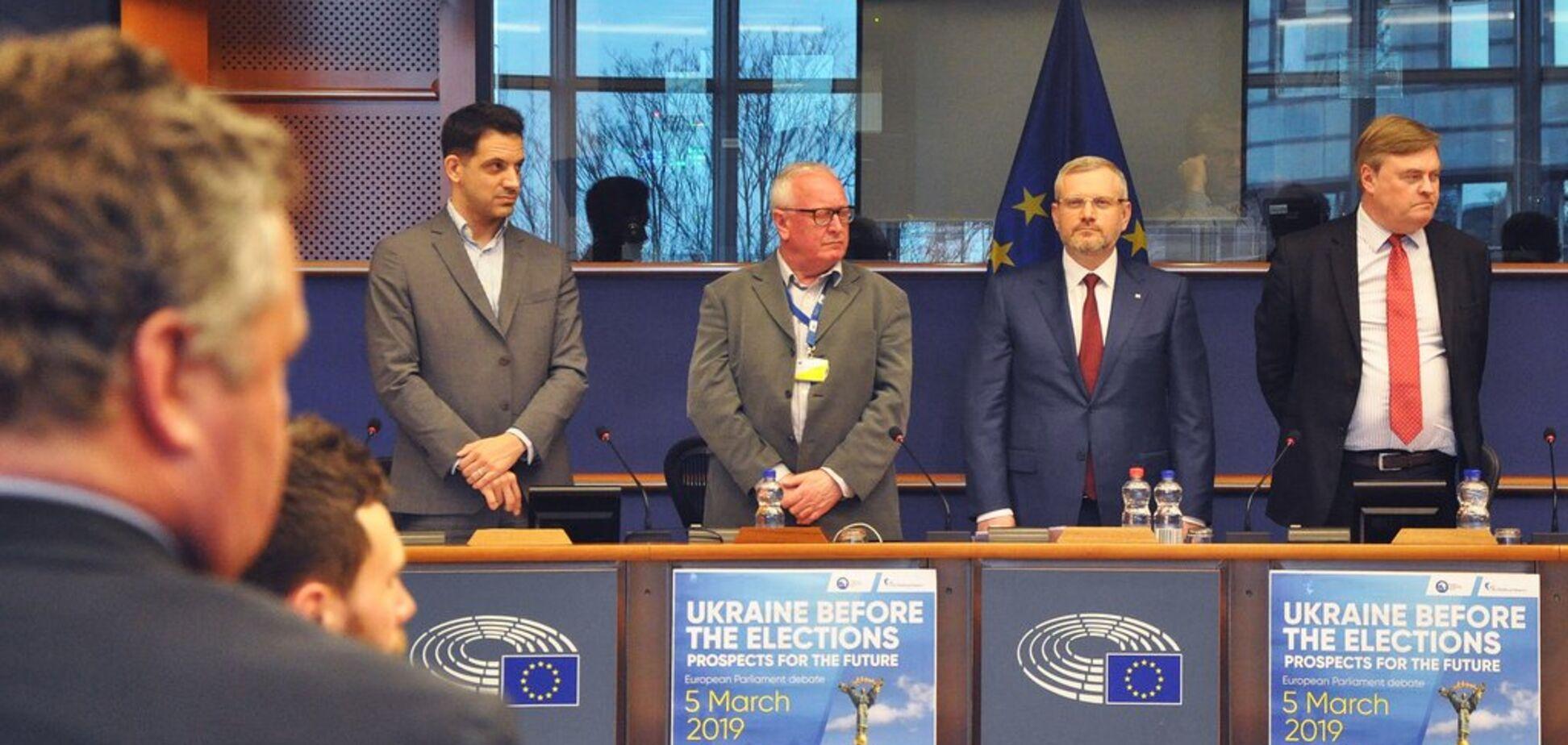 Вілкул представив у Європарламенті План з відновлення миру в Україні