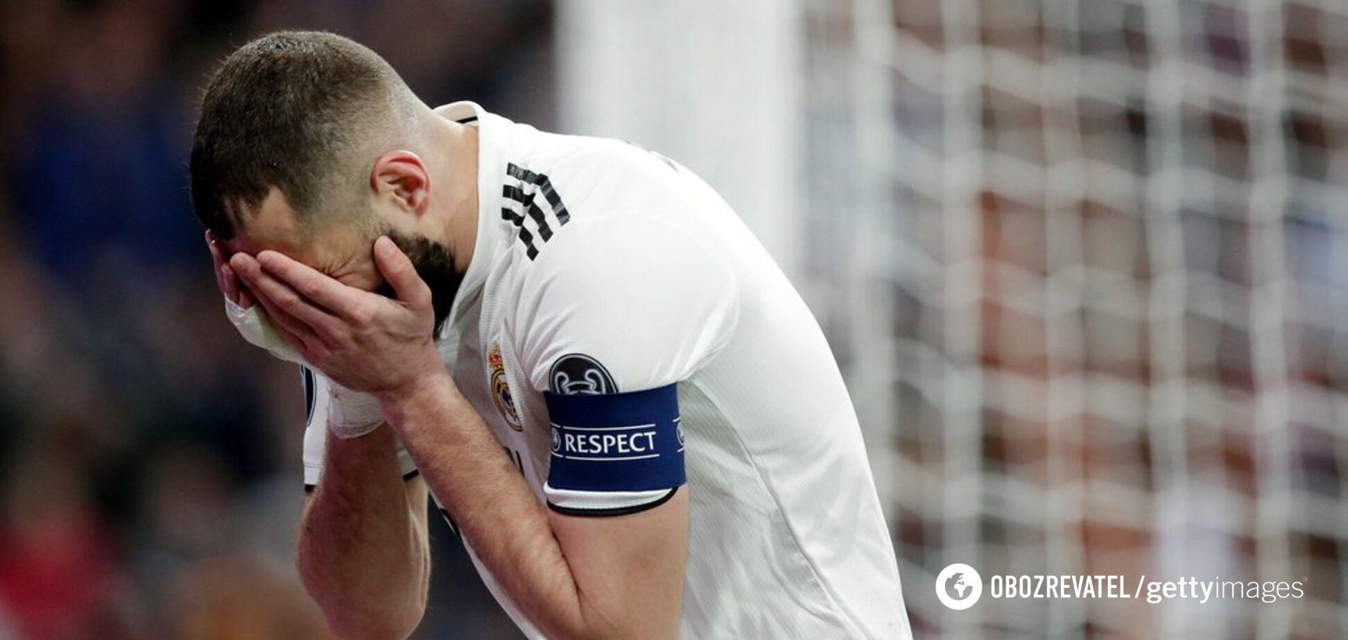 Черные времена: как 'Реал' опозорился и проиграл все за 6 дней