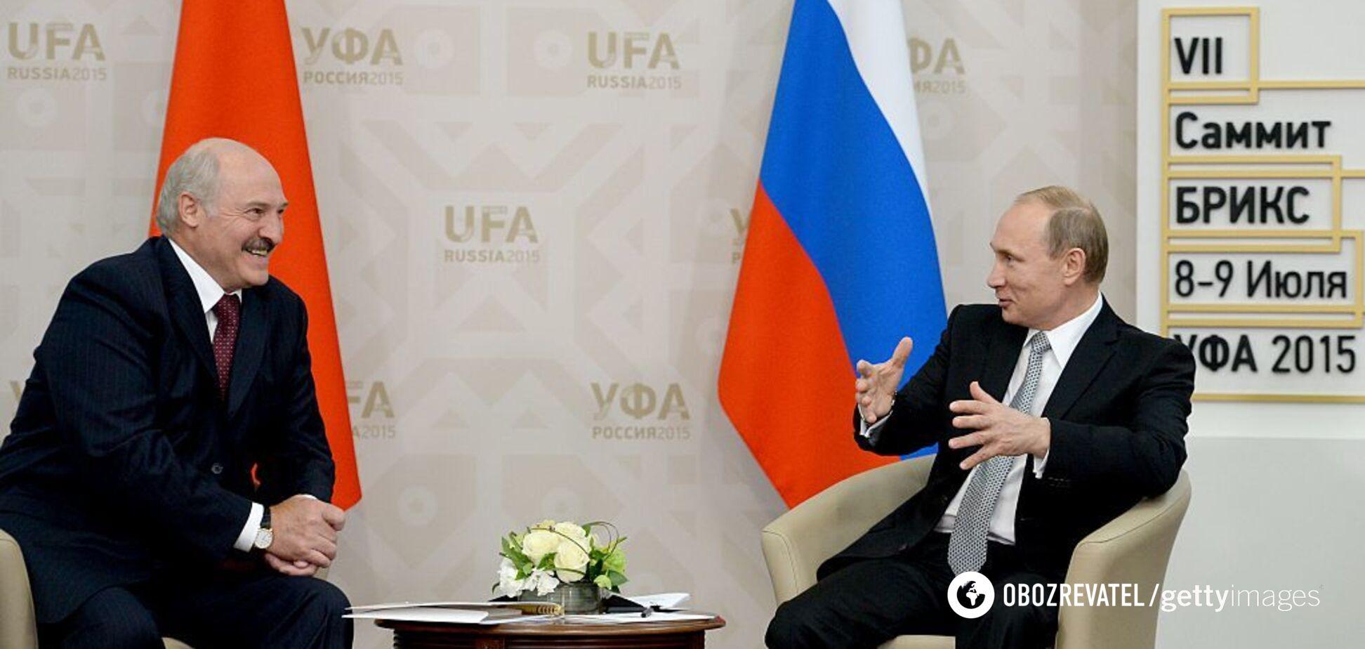 'Білорусь перетворюється на колонію Росії': Лукашенка спіймали на брехні
