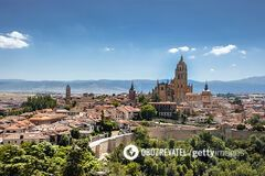Площа Іспанії в місті Севілья