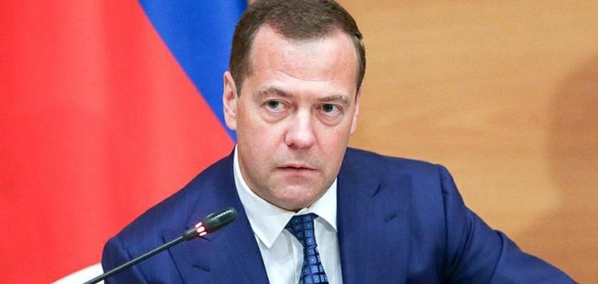 'Россия должна уйти!' Медведев разнервничался из-за совета по Крыму