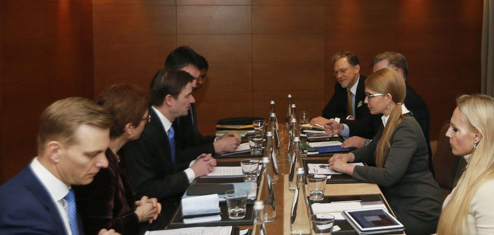 Тимошенко зустрілася із заступником Державного секретаря США