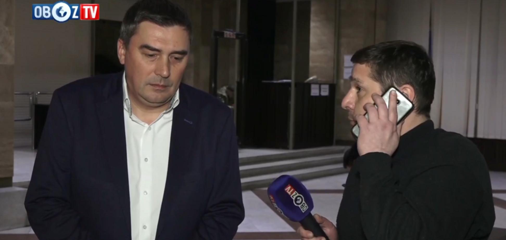 Добродомов объяснил решение снять свою кандидатуру в пользу Анатолия Гриценко