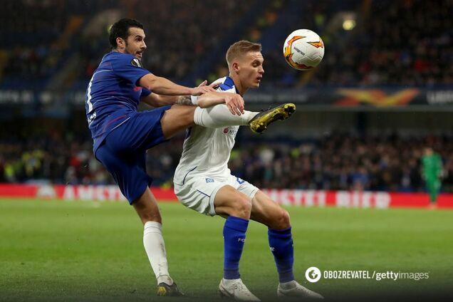 футбол динамо челси: смотреть обзор матча