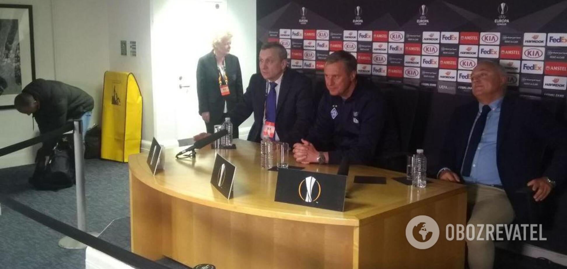 Хацкевич прокомментировал поражение от 'Челси'