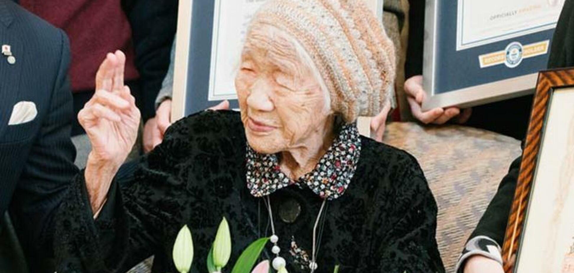 Найстарша жителька планети в 116 років потрапила до книги рекордів Гіннеса